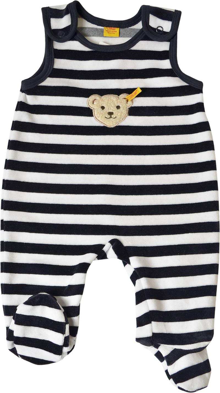 2 tlg Steiff Strampler /& T-Shirt Set babyblue//weiß 2855
