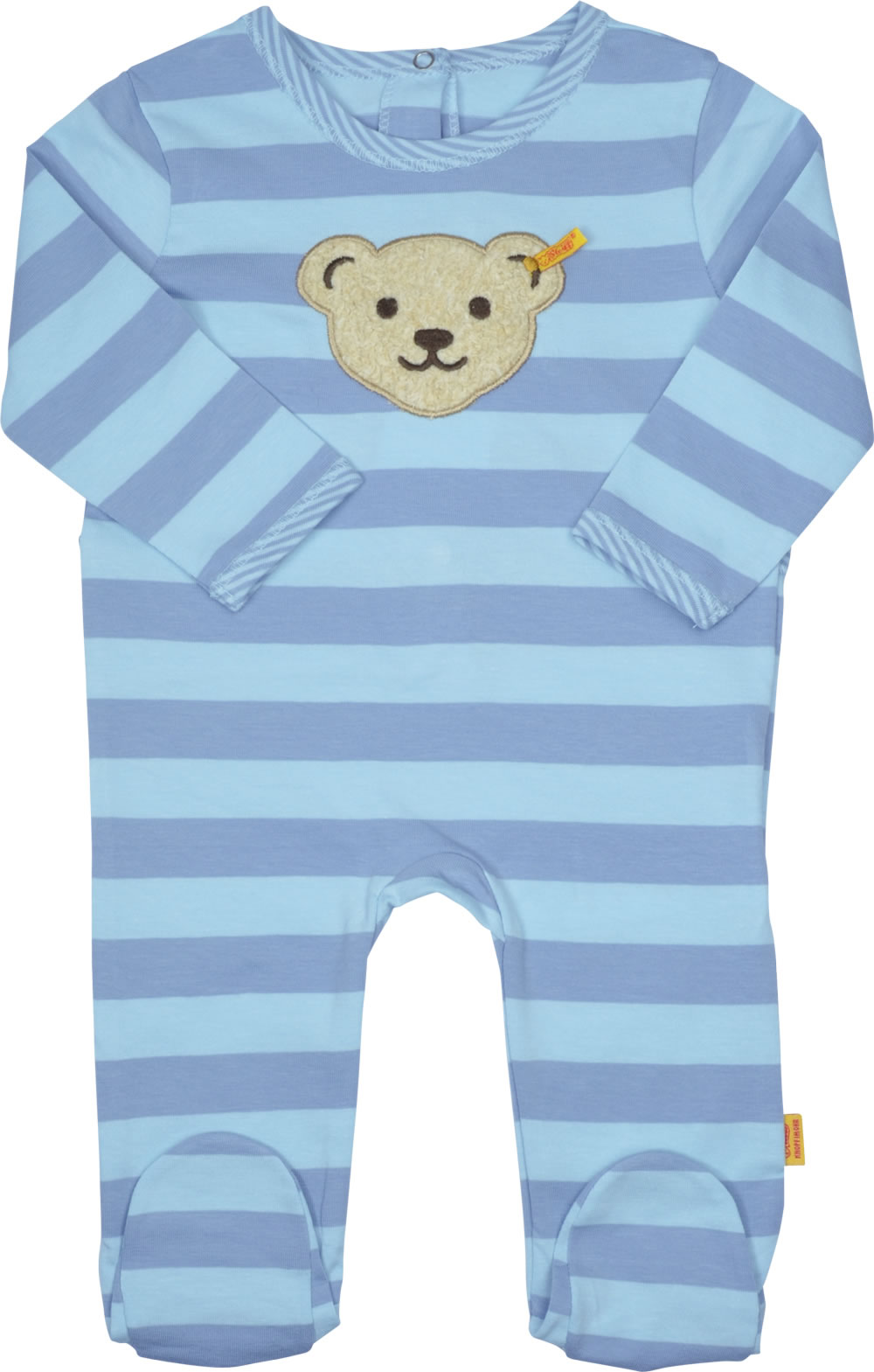 Steiff Romper 2-piece Set Oeko-tex Boy Navy