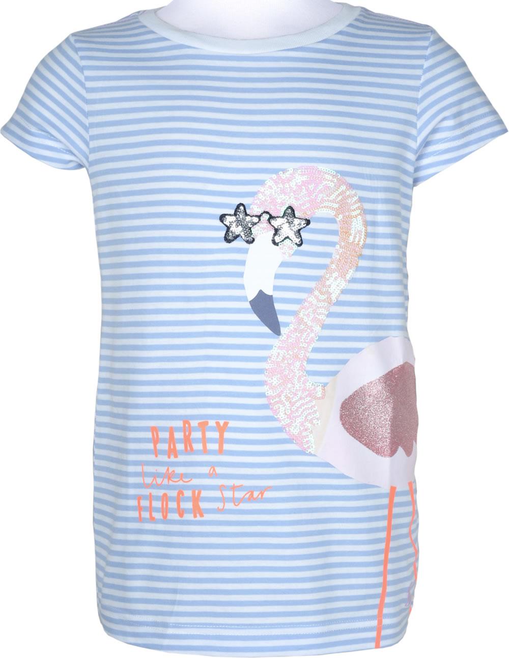 best website 6264e 45b69 Tom Joule T-Shirt Kurzarm ASTRA FLAMINGO blue stripe 203030