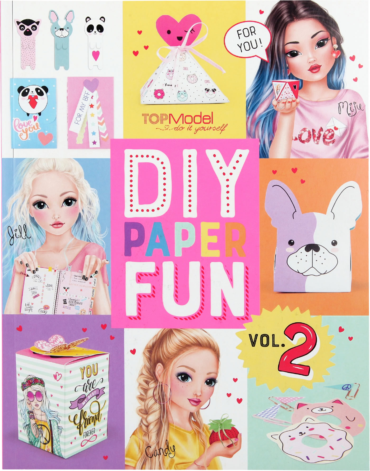 topmodel diy paper fun book vol 2 bei papiton bestellen