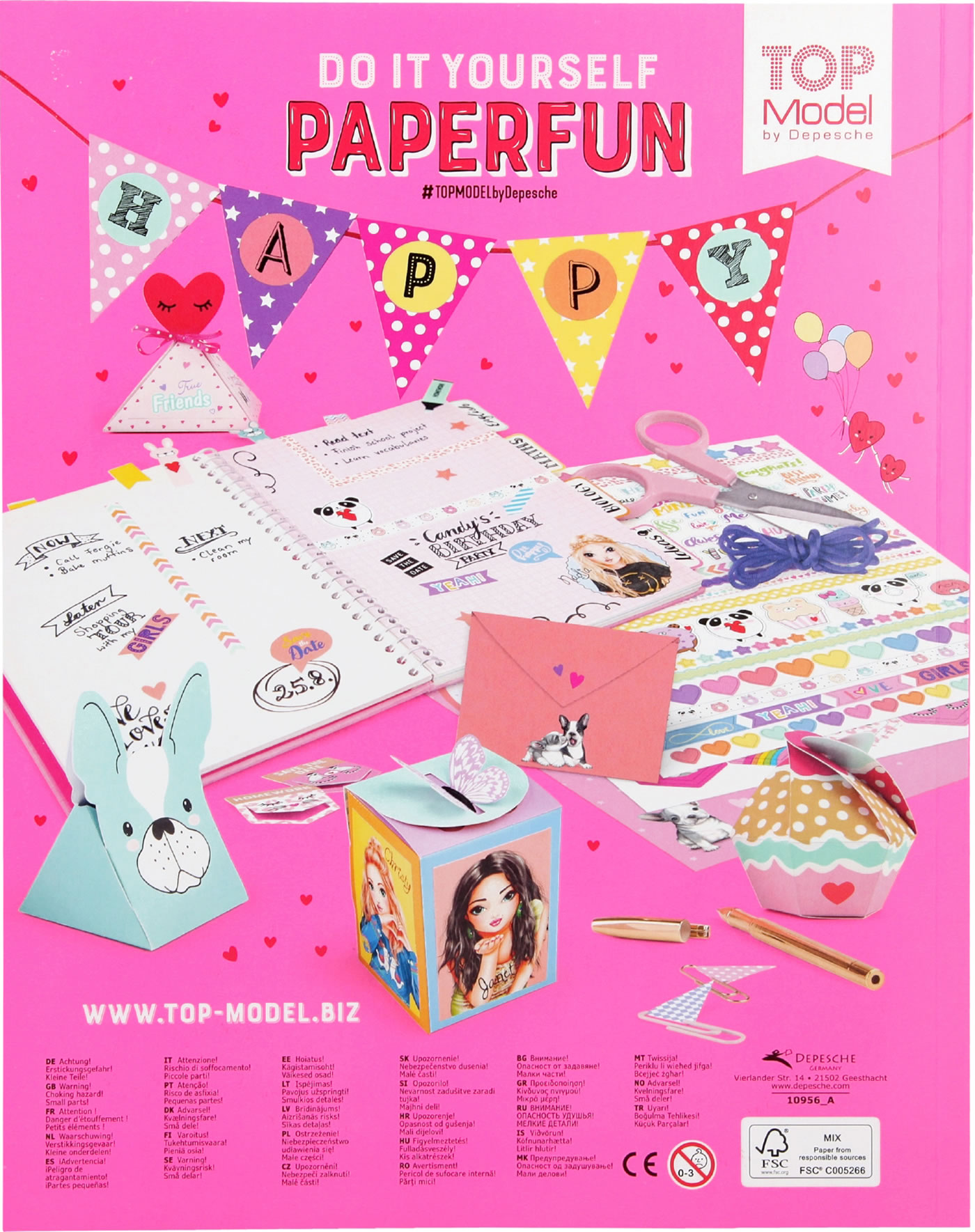 TOPModel DIY Paper Fun Book Vol  2