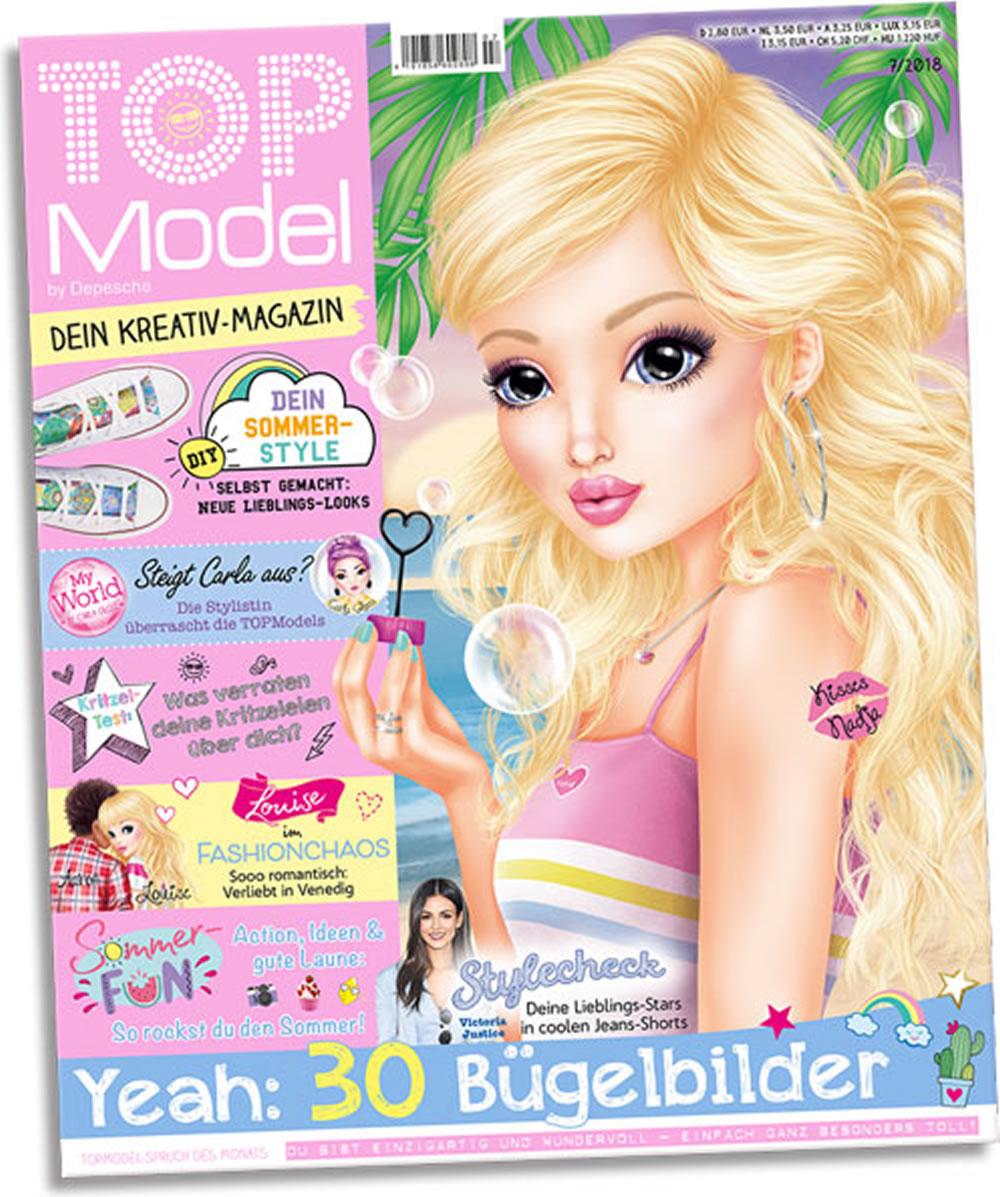 TOPModel Magazine July 2018   German Version