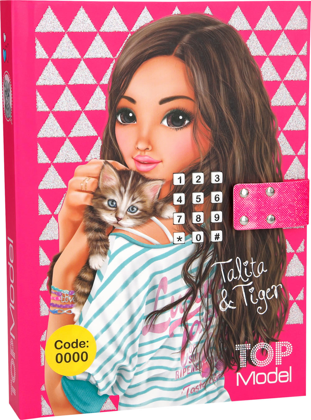 TOPModel Diary With Secret Code Talita & Tiger Online At