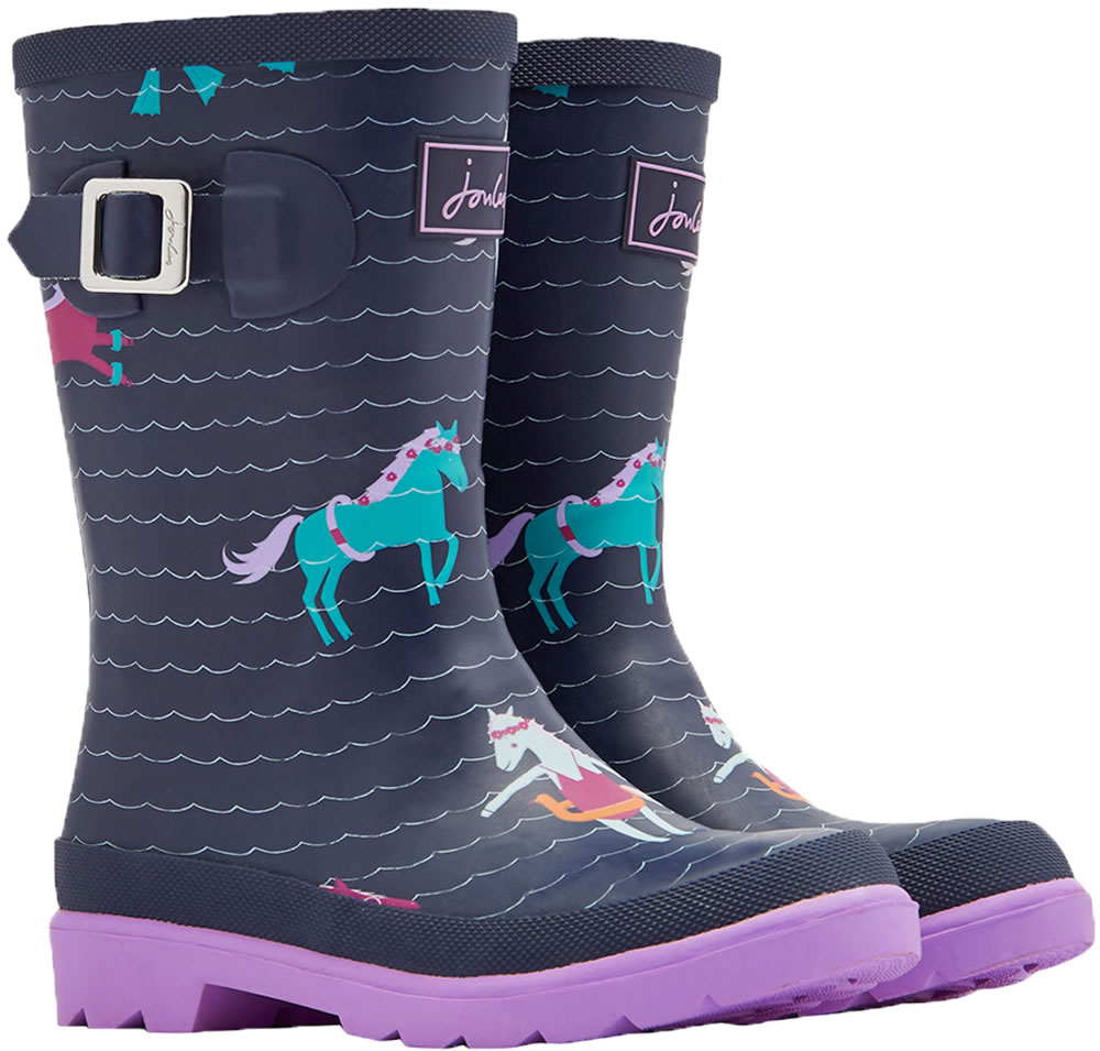 on sale 7a5c4 42f67 Tom Joule Wellingtons WELLY PONY navy/pink Y_JNRGIRLSWLY-FNSPONY