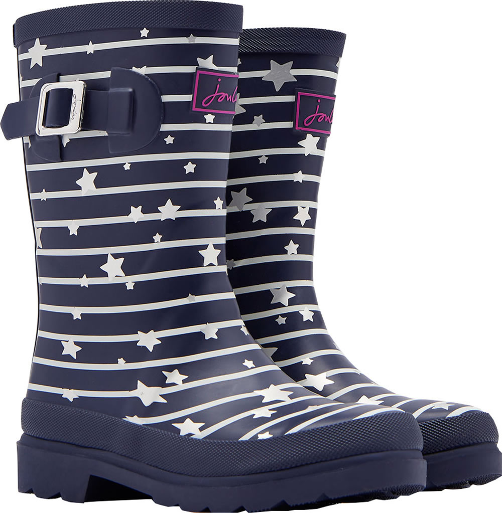 wholesale dealer a1bb5 ae593 Tom Joule Wellingtons WELLY STARS navy Y_JNRGIRLSWLY-NVSTARS