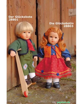 Käthe Kruse Puppe Goldkind Die Glücksbotin mit Tasche 28803