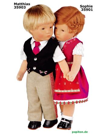 Käthe Kruse Puppe IX Matthias 35903 links -.-