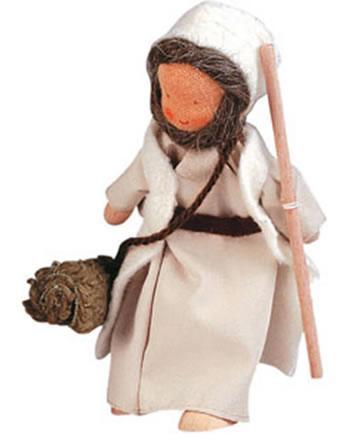 Käthe Kruse Flexible Doll Shepherd old