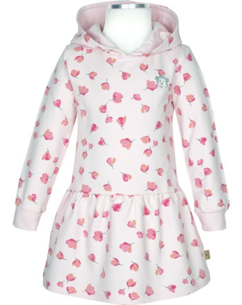 Bellybutton Robe Sweat manches longues avec capuche Mini Girl allover 2083028-0003