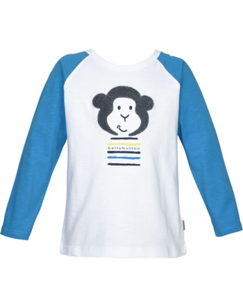 Bellybutton T-Shirt Langarm Raglan Mini Boy bright white 2083481-1000