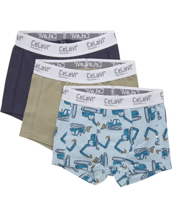 CeLaVi Boxer-Shorts 3er Set BAGGER arona 5918-797