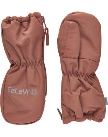 CeLaVi Handschuhe Fäustlinge SOLID mahogany 330393-4540