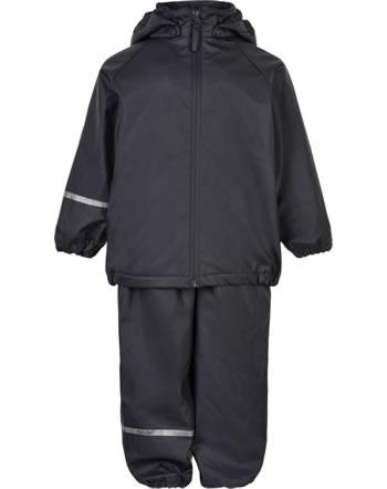 CeLaVi PU Regen-Set Jacke u. Hose Fleecefutter RECYCLED dark navy 5875-778