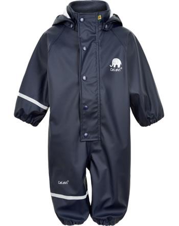 CeLaVi PU Rain suit SOLID dark navy 4697-778