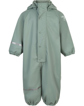 CeLaVi PU Regenanzug Overall Fleece RECYCLED slate gray 310252-9021
