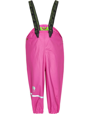 CeLaVi PU-Regenhose Buddelhose wasserdicht SOLID real pink 1155-546