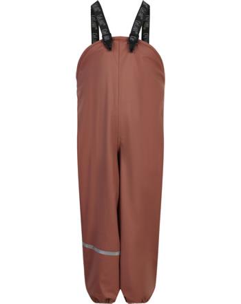 CeLaVi PU-Regenhose RECYCLED wasserdicht Fleecefutter mahogany 310258-4540