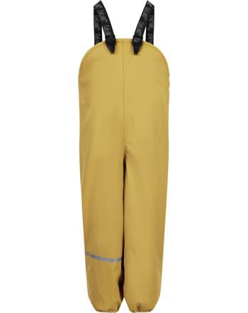 CeLaVi PU-Regenhose RECYCLED wasserdicht Fleecefutter mineral yellow 310258-3720