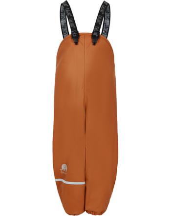 CeLaVi PU-Regenhose wasserdicht mit Fleecefutter pumpkin spice 310220-3032