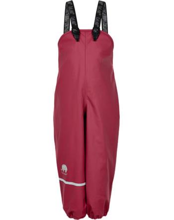 CeLaVi PU-Regenhose wasserdicht mit Fleecefutter rio red 310220-4656