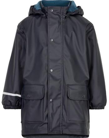 CeLaVi PU-Regenjacke/Mantel mit Fleece navy 310217-7790