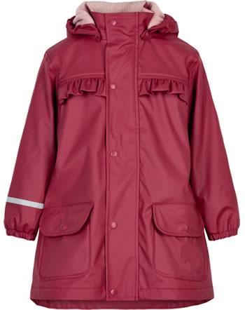 CeLaVi PU-Regenjacke/Mantel mit Fleece rio red 310216-4656