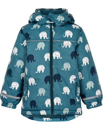 CeLaVi Winter jacket  ELEPHANTS AOP ice blue 330355-7172
