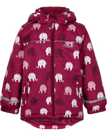 CeLaVi Schneejacke Skijacke ELEPHANTS AOP rio red 330355-4656