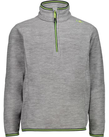 CMP Fleece-Pullover Jungen argento melange 30G0504-U403