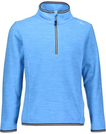 CMP Fleece-Pullover Jungen light blue melange  30G0504-L592
