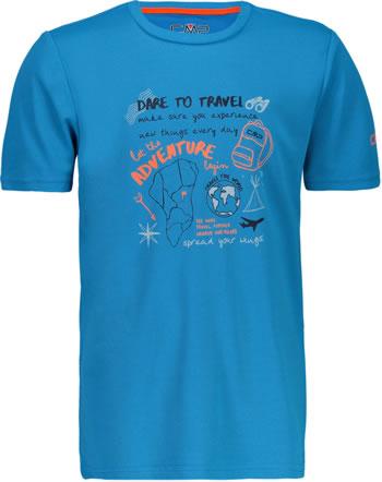 CMP Shirt fonctionnelle manches courtes garcon UV 40+ rif 38T6744-L770