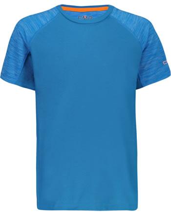 CMP Shirt fonctionnelle manches courtes Raglan garcon UV 40+ ottani 30T7254-L837