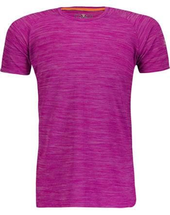 CMP Shirt fonctionnelle manches courtes Raglan fille UV 40+ bouganville 30T7275-H620