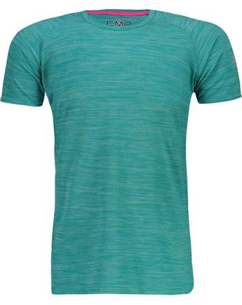 CMP Shirt fonctionnelle manches courtes Raglan fille UV 40+ ceramic 30T7275-E656