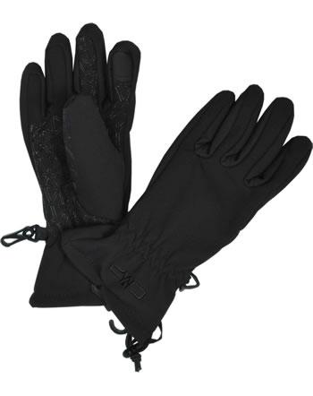 CMP Des gants Softshell nero 6524830J-U901