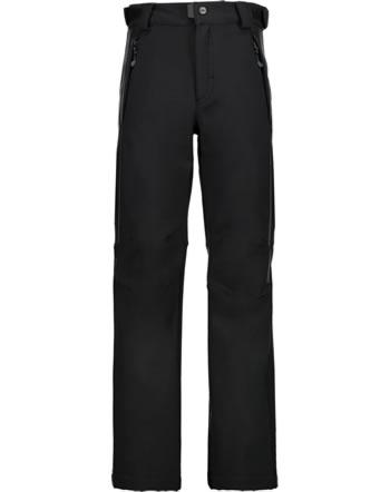 CMP Pantalons Softshell garçons d'hiver nero noir 3A01484-U901