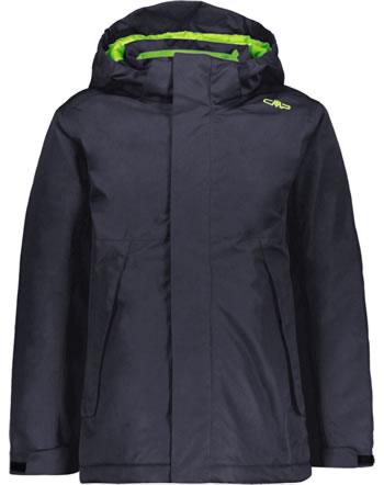 CMP Outdoor-Jacke m. Kapuze Boy black blue-fluo green 39Z0414-00NF