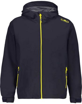 CMP Veste de pluie avec capuche pour garçon antracite/lemonade 39X7984-90UE