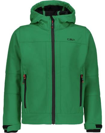 CMP Softshell-Jacke mit Kapuze BOY emerald 3A00094-E880