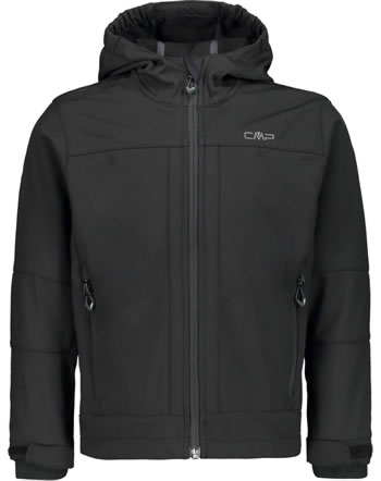 CMP Softshell-Jacke mit Kapuze BOY nero 3A00094-U901