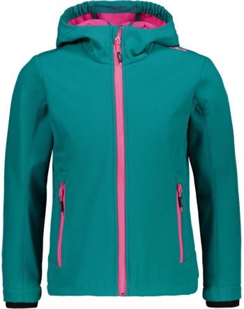 CMP Softshell veste avec capuchon Girl lake 3A29385N-E813