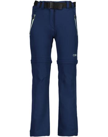 CMP zip-off-pantalon GIRL KIDS blue 3T51445-M926