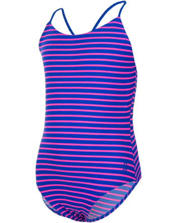 Color Kids Badeanzug VIOLA UV 40+ dazzeling blue gestreift 103263-01133