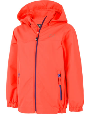 Color Kids Funktionsjacke-Jacke THINUS fiery coral 103597-04151 BIONIC-FINISH