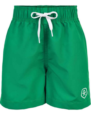Color Kids Beach shorts UPF 30+ BUNGO golf green CK104603-285