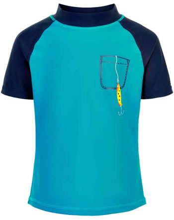 Color Kids Beach-Shirt EJNAR UPF 40+ crystal teal CK104600-1152