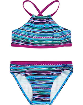 Color Kids Bikini KATE UPF 40+ stripes berry CK104583-409