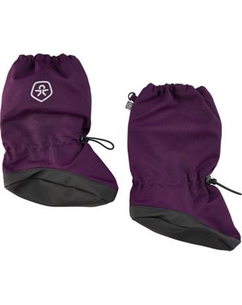 Color Kids Füßlinge ABS RECYCLED potent purple 740469-6554