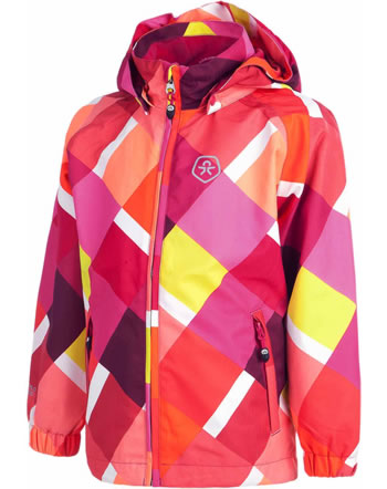 Color Kids Allwetter-Jacke PLAY BILBOA bright rose 102864-0440