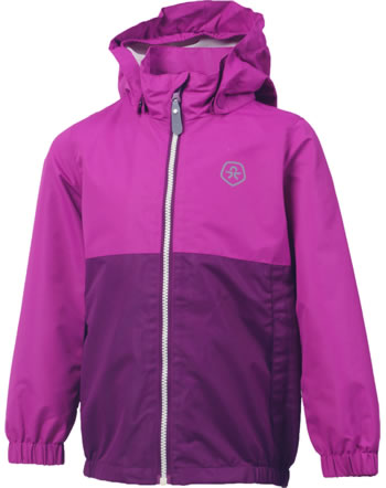 Color Kids Regen-Jacke THY magenta purple 103957-4123